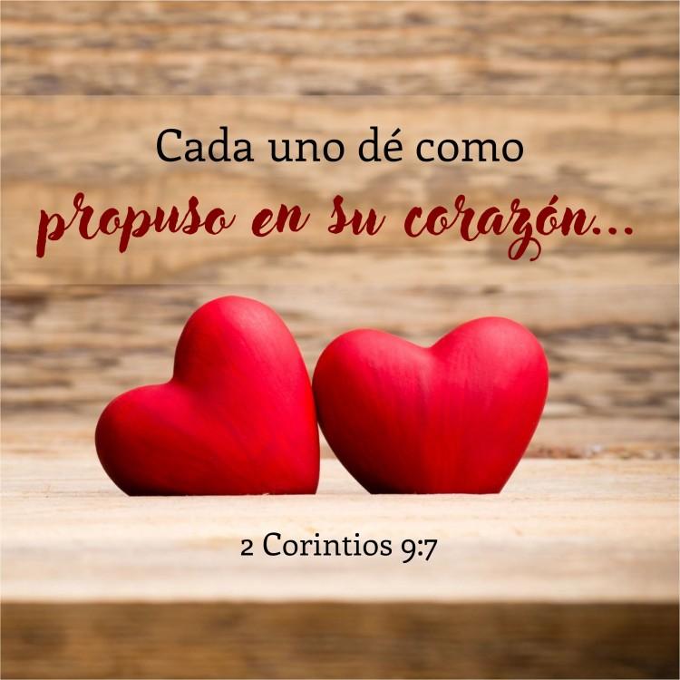 2 Corintios 9.7 Anexo
