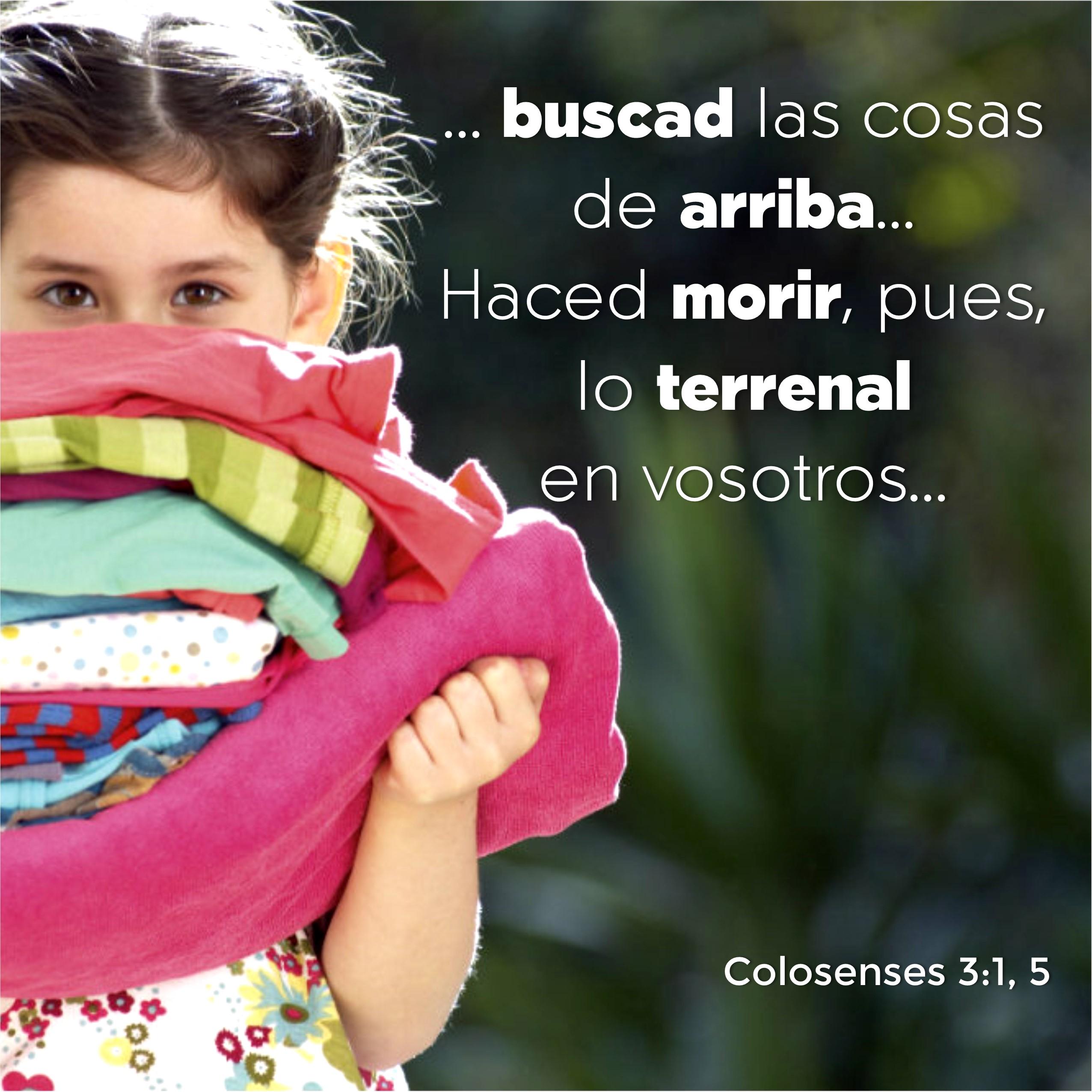 Colosenses 3.1, 5 Anexo
