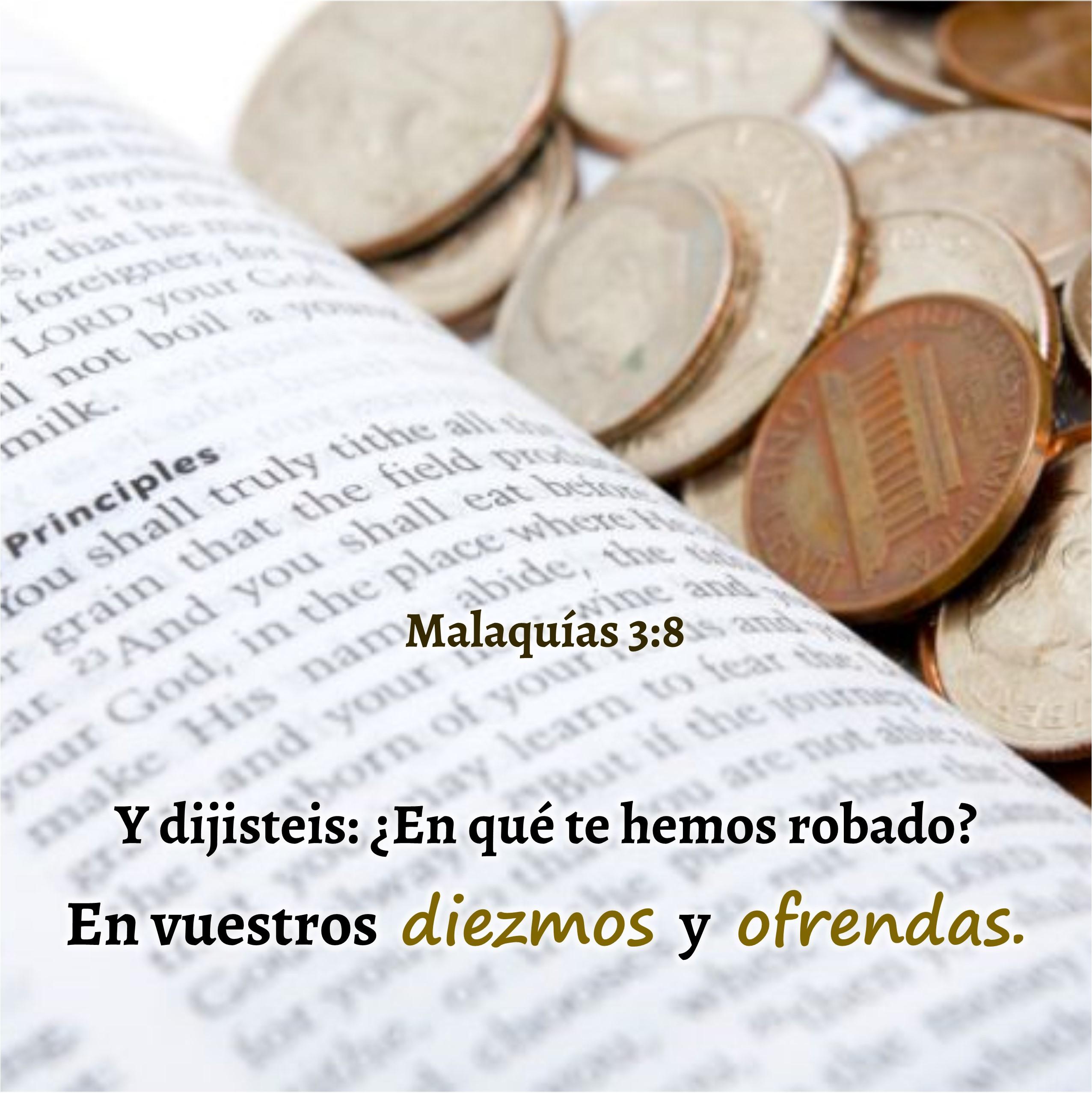 Malaquías 3.8 Anexo